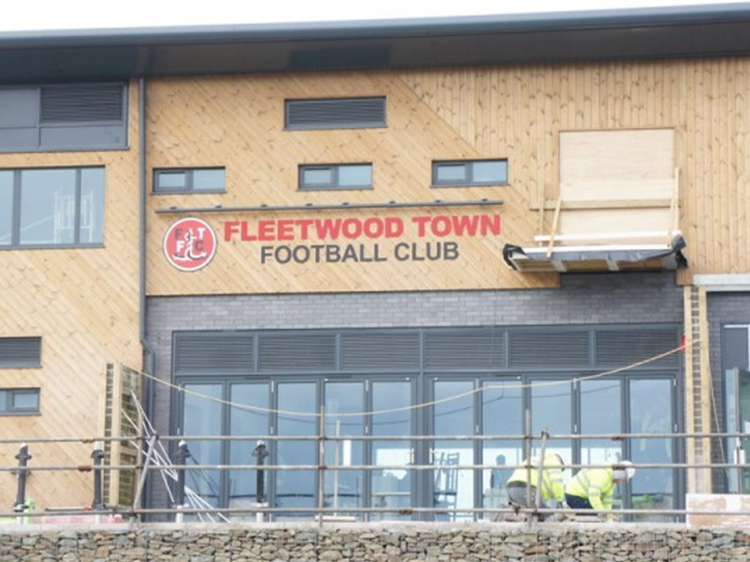 Fleetwood Town Football Club Wall Graphics Signage