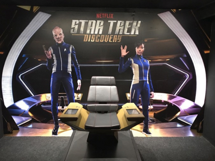 Star Trek Discovery Netflix Wall Graphics