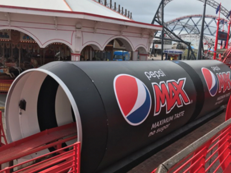Pepsi Max Big One Graphics