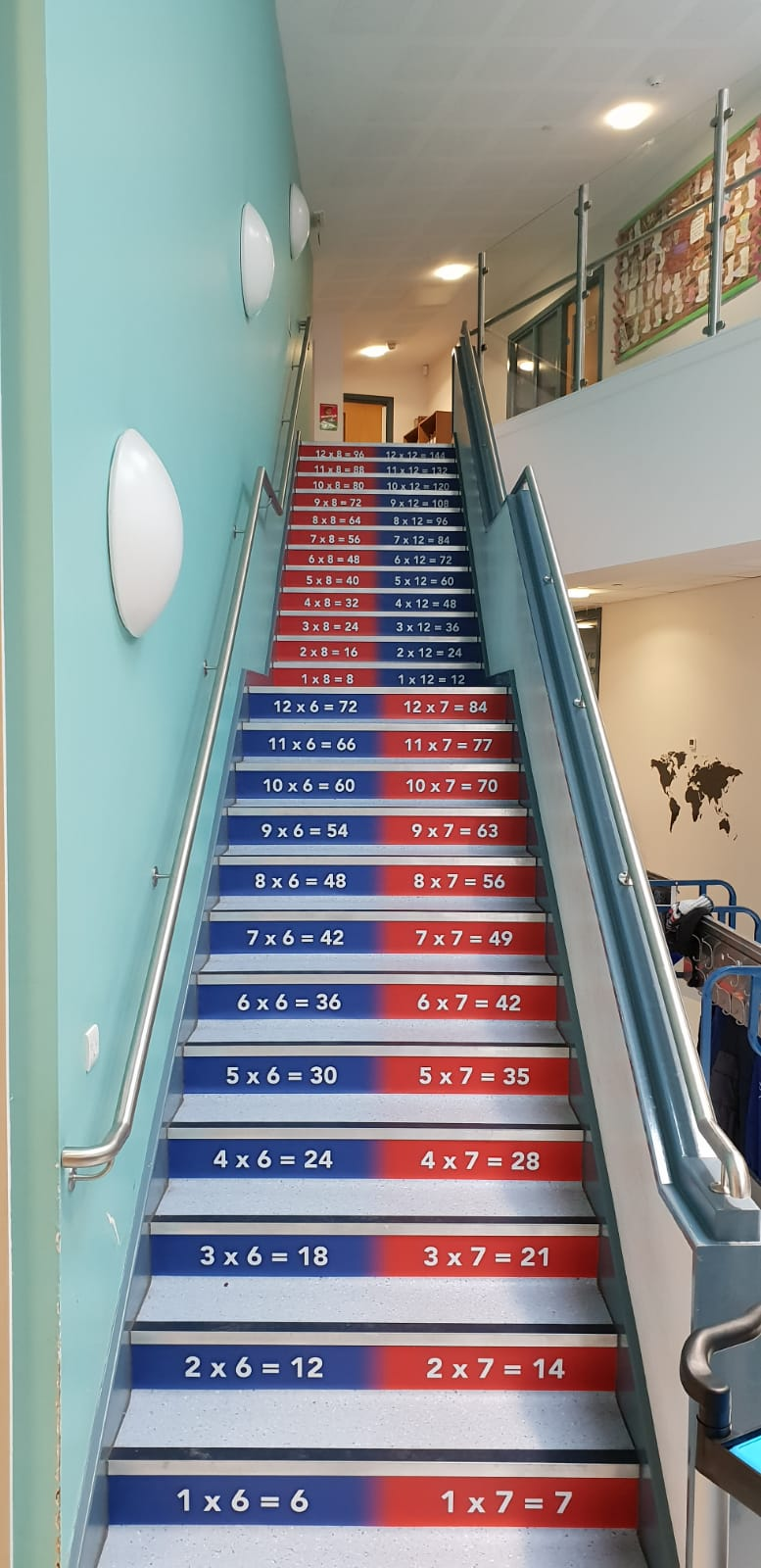 Stairs Coverings Graphics Signage