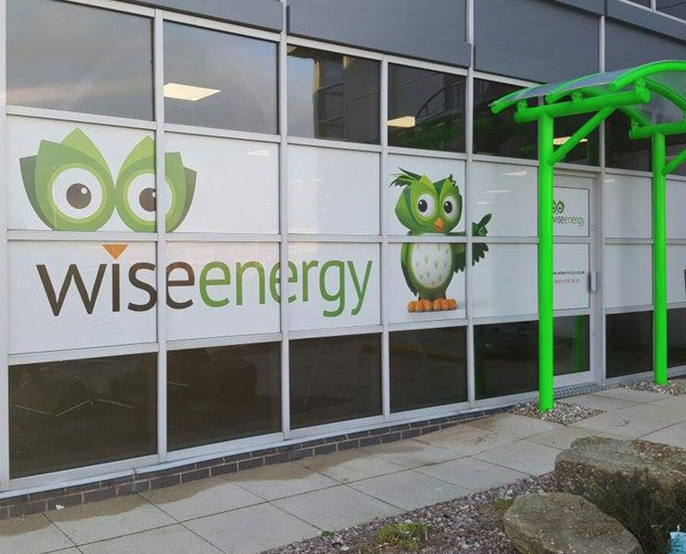 wise energy window graphics