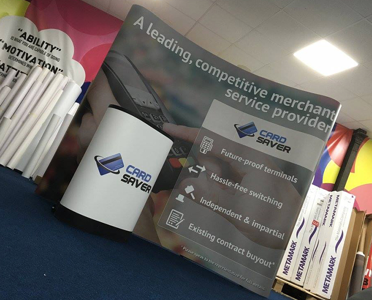 card saver exhibition stands