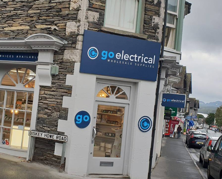 go electrical external signs