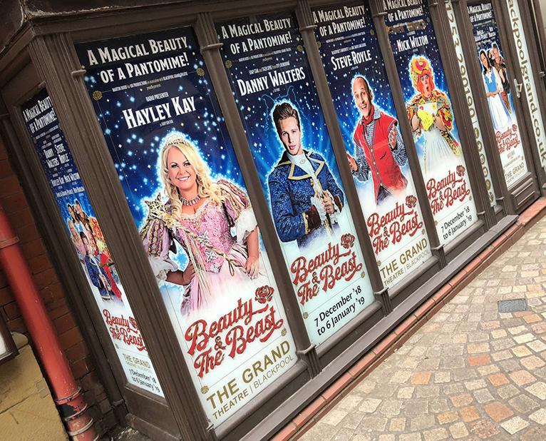 beauty and the beast the grand window graphics